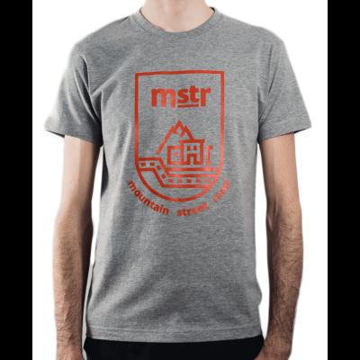 MSTR póló heather gray