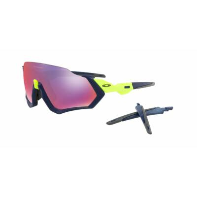 OAKLEY FLIGHT JACKET PRIZM ROAD, RETINA BURN / NAVY