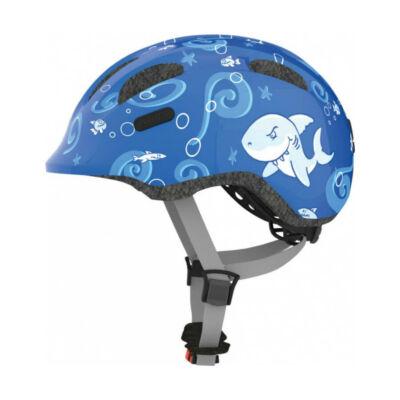 ABUS Smiley 2.0 kék cápás gyerek fejvédő