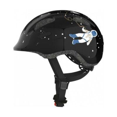 ABUS Smiley 2.0 fekete űrhajós gyerek fejvédő