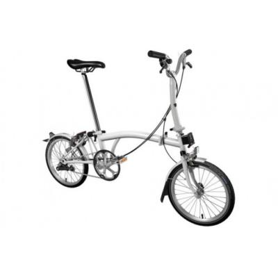 Brompton összecsukható kerékpár használt